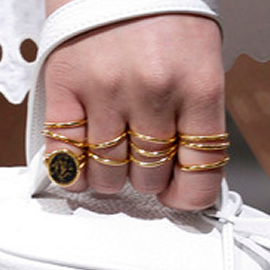 balenciaga-ss13-gold-rings
