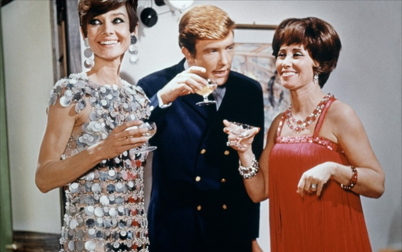 Audrey Hepburn en Paco Rabanne dans Voyage à Deux