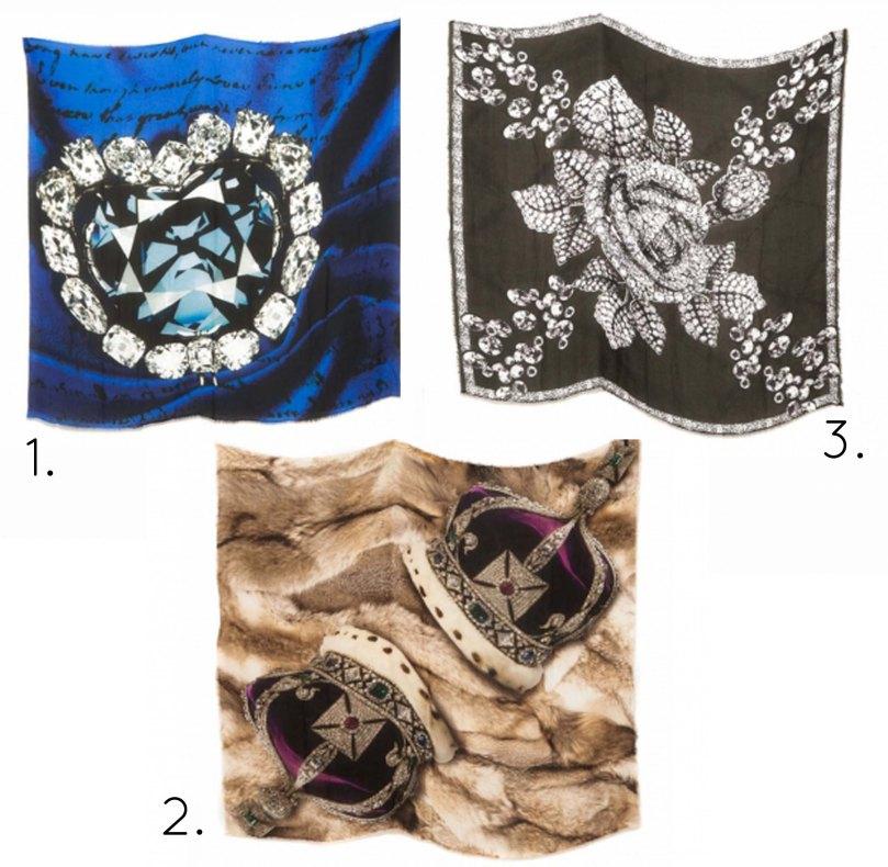 foulard bruini