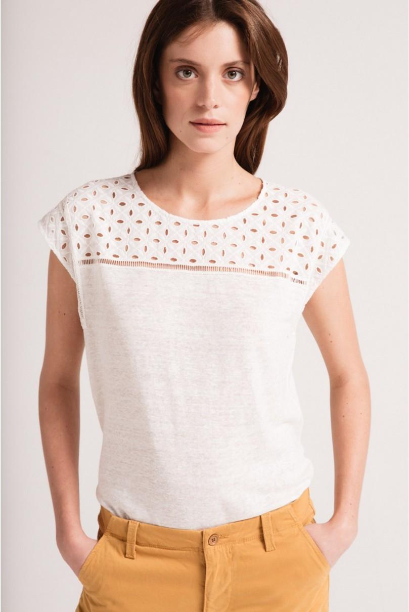 T-shirt ajouré Pablo - 85€