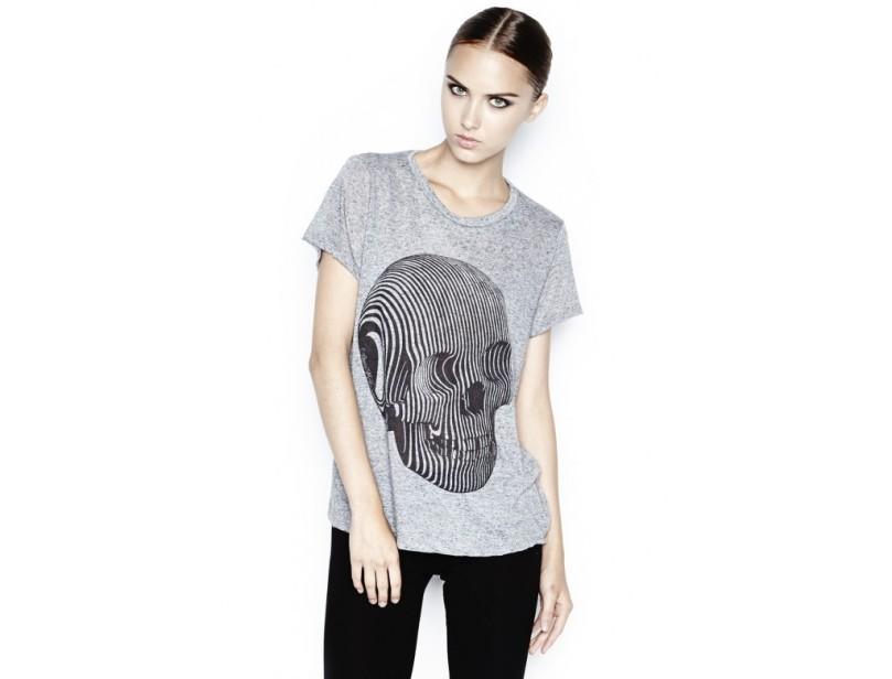 T-shirt Edda Swirl Skull - 12€ au lieu de 120€